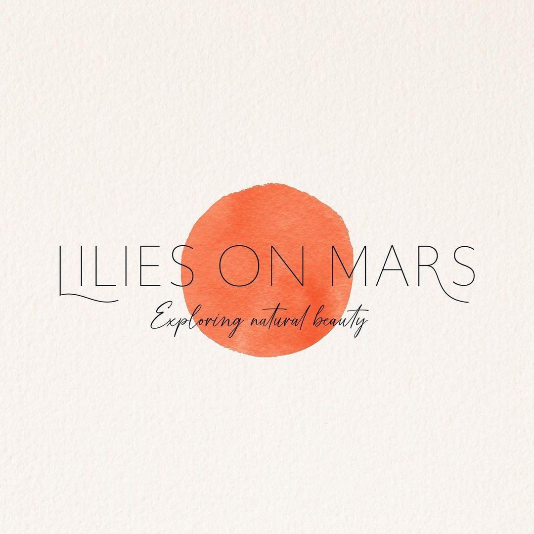 Logo en branding voor Lilies on mars